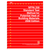 NFPA 259: Standard Test Method for Potential Heat of Building Materials, Prior Years