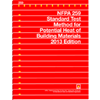 NFPA 259: Standard Test Method for Potential Heat of Building Materials, 2013 Edition