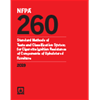 2019 NFPA 260 Standard - Current Edition