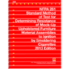 NFPA 261: Standard Method of Test for Determining Resistance of Mock-Up Upholstered Furniture Material Assemblies to Ignition by Smoldering Cigarettes