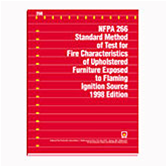 NFPA 266: Standard Method of Test for Fire Characteristics of Upholstered Furniture Exposed to Flami