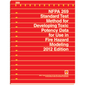 NFPA 269: Standard Test Method for Developing Toxic Potency Data for Use in Fire Hazard Modeling