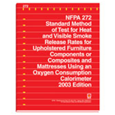 NFPA 272: Standard Method of Test for Heat and Visible Smoke Release Rates for Materials and Product