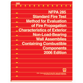 NFPA 285: Standard Fire Test Method for Evaluation of Fire Propagation Characteristics of Exterior Non-Load-Bearing Wall Assemblies Containing Combustible Components, Prior Years