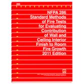 Nfpa 286 standard methods of fire tests for evaluating for Room design method nfpa 13