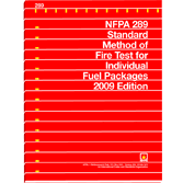 NFPA 289: Standard Method of Fire Test for Individual Fuel Packages, Prior Years