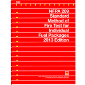 NFPA 289: Standard Method of Fire Test for Individual Fuel Packages