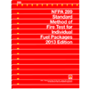 2013 NFPA 289: Standard Method of Fire Test for Individual Fuel Packages