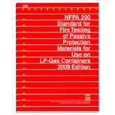 NFPA 290: Standard for Fire Testing of Passive Protection Materials for Use on LP-Gas Containers, Prior Years