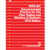 NFPA 291: Recommended Practice for Fire Flow Testing and Marking of Hydrants, 2016 Edition