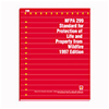 NFPA 299: Standard for Protection of Life and Property from Wildfire, 1997 Edition
