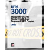 NFPA 3000, Standard for an Active Shooter/Hostile Event Response (ASHER) Program
