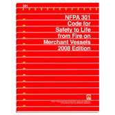 NFPA 301: Code for Safety to Life from Fire on Merchant Vessels, Prior Years