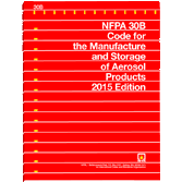 NFPA 30B: Code for the Manufacture and Storage of Aerosol Products