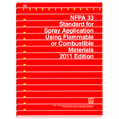NFPA 33: Standard for Spray Application Using Flammable or Combustible Materials