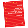 NFPA 33: Standard for Spray Application Using Flammable or Combustible Materials, Spanish
