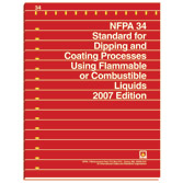 NFPA 34: Standard for Dipping and Coating Processes Using Flammable or Combustible Liquids, Prior Years