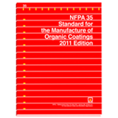 NFPA 35: Standard for the Manufacture of Organic Coatings