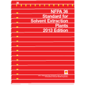 NFPA 36: Standard for Solvent Extraction Plants