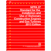 2015 NFPA 37 Standard - Current Edition