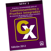 NFPA 3: Recommended Practice for Commissioning of Fire Protection and Life Safety Systems, Spanish