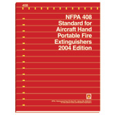 NFPA 408: Standard for Aircraft Hand Portable Fire Extinguishers, Prior Years
