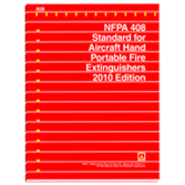 NFPA 408: Standard for Aircraft Hand Portable Fire Extinguishers