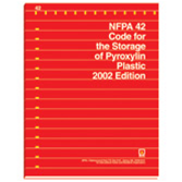 NFPA 42: Code for the Storage of Pyroxylin Plastic