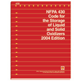 NFPA 430: Code for the Storage of Liquid and Solid Oxidizers