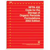 NFPA 432: Code for the Storage of Organic Peroxide Formulations