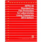 NFPA 45: Standard on Fire Protection for Laboratories Using Chemicals