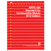 NFPA 484: Standard for Combustible Metals, Prior Years