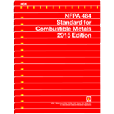 NFPA 484: Standard for Combustible Metals