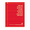 1999 NFPA 485: Standard for the Storage, Handling, Processing, and Use of Lithium Metal