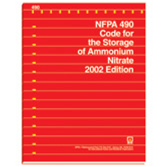 NFPA 490: Code for the Storage of Ammonium Nitrate