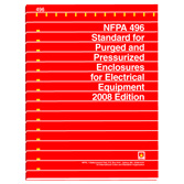 NFPA 496: Standard for Purged and Pressurized Enclosures for Electrical Equipment, Prior Years