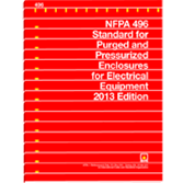 NFPA 496: Standard for Purged and Pressurized Enclosures for Electrical Equipment