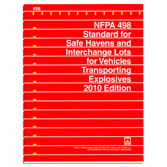 NFPA 498: Standard for Safe Havens and Interchange Lots for Vehicles Transporting Explosives, Prior Years