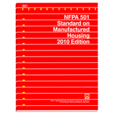 NFPA 501: Standard on Manufactured Housing, Prior Years