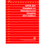 NFPA 501: Standard on Manufactured Housing