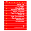 NFPA 505: Fire Safety Standard for Powered Industrial Trucks Including Type Designations, Areas of Use, Conversions, Maintenance, and Operations, Prior Years