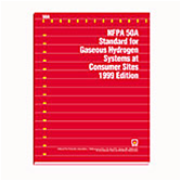 NFPA 50A: Standard for Gaseous Hydrogen Systems at Consumer Sites