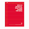 NFPA 513: Standard for Motor Freight Terminals, 1998 Edition
