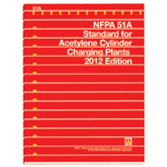NFPA 51A: Standard for Acetylene Cylinder Charging Plants