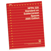 NFPA 520: Standard on Subterranean Spaces, Prior Years