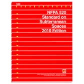NFPA 520: Standard on Subterranean Spaces