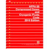 2016 NFPA 55 Code - Current Edition