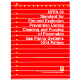 NFPA 56: Standard for Fire and Explosion Prevention During Cleaning and Purging of Flammable Gas Pip