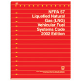 NFPA 57: Liquefied Natural Gas (LNG) Vehicular Fuel Systems Code