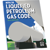 NFPA 58: Liquefied Petroleum Gas Code